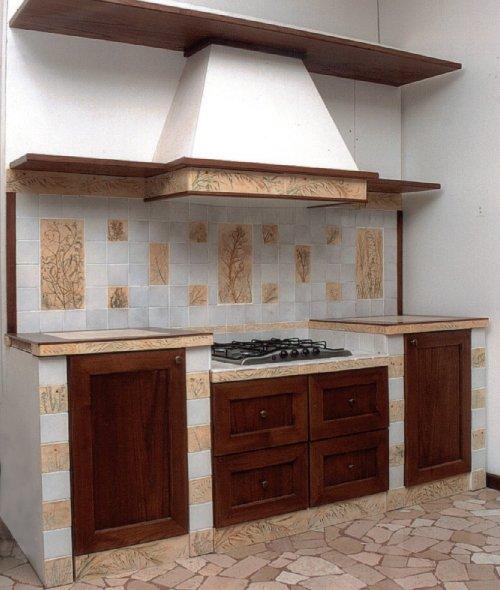 Rivestimenti cucine in muratura ex18 pineglen - Rivestimento cucina in muratura ...