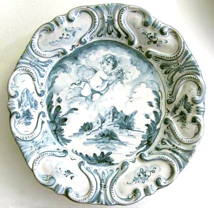 Baroque plate